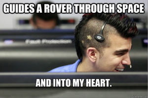bobak guides a robot through space