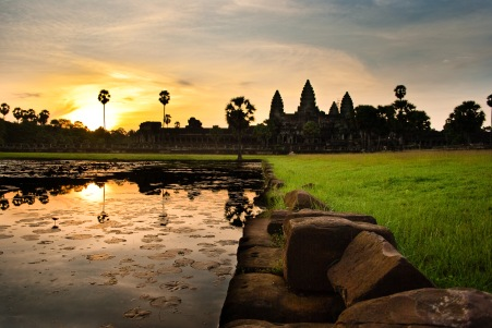 Mark Zastrow | angkor wat at sunrise